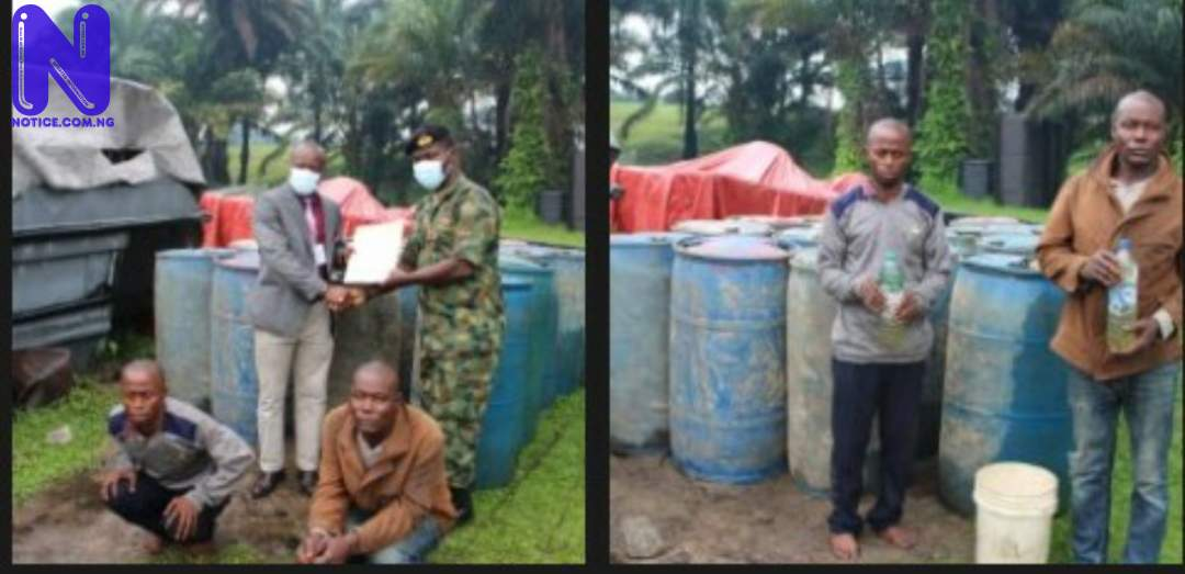 Navy hands over oil smugglers to EFCC 1Z3A61OE154188