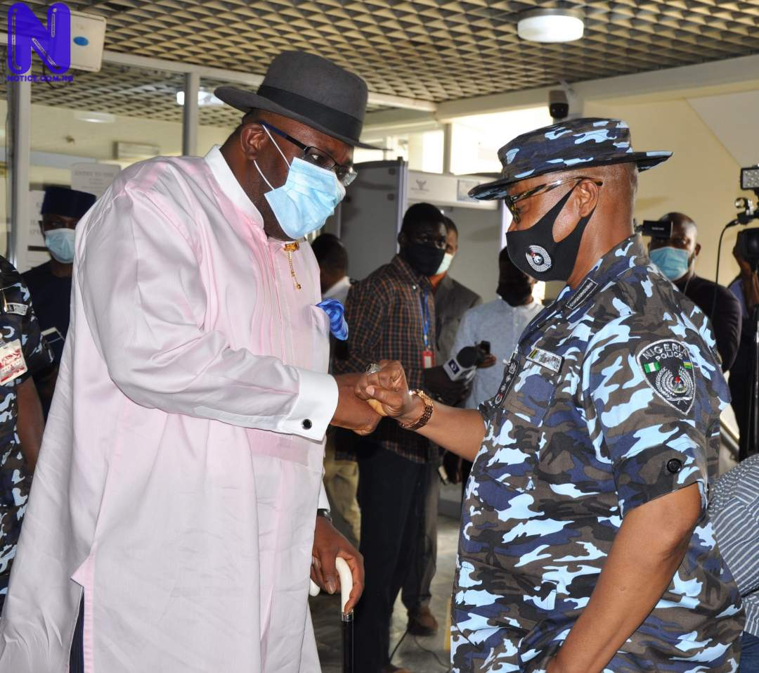 Police not Nigeria's problem – Dickson condemns attacks 20210514 181155-SCALED