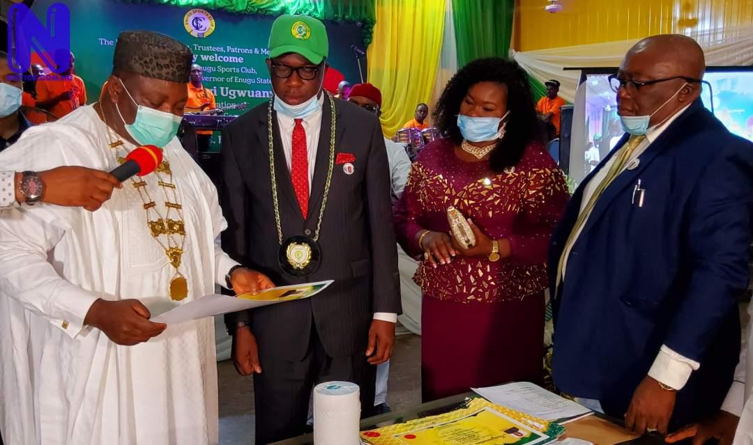 Gov. Ugwuanyi inaugurates Barr. Nwosu-led Executive Committee of Enugu Sports Club 20210801 161927-SCALED522038