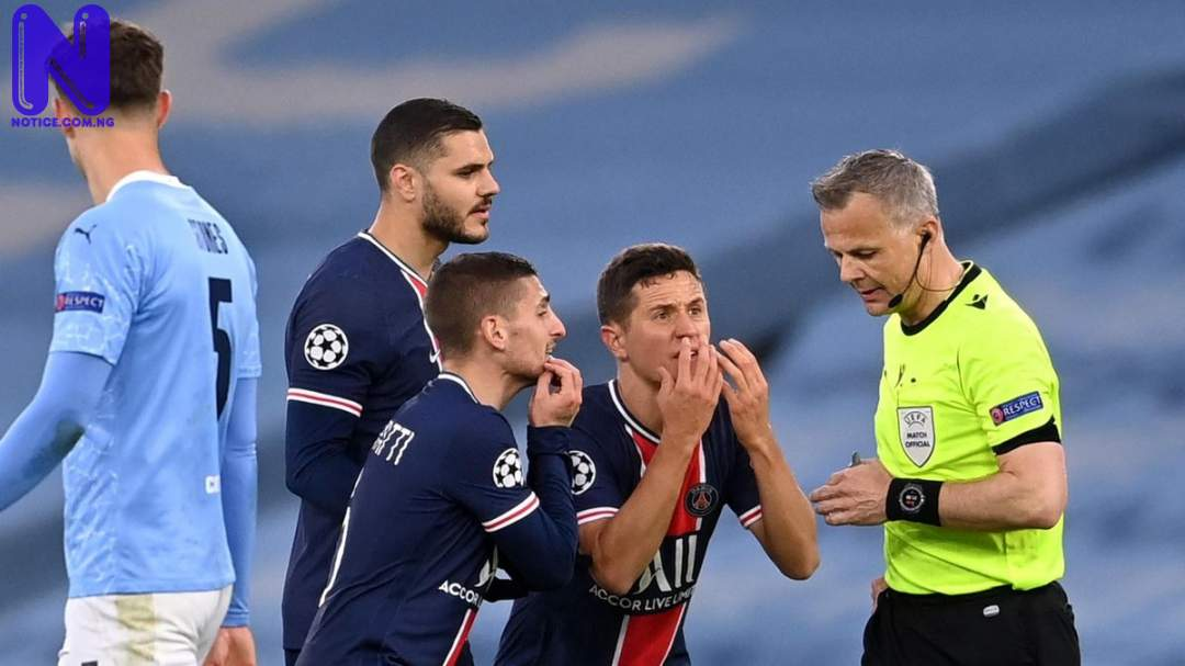 What referee told us during 2-0 loss to Man City – PSG players - UCL 3126451-64084748-2560-1440