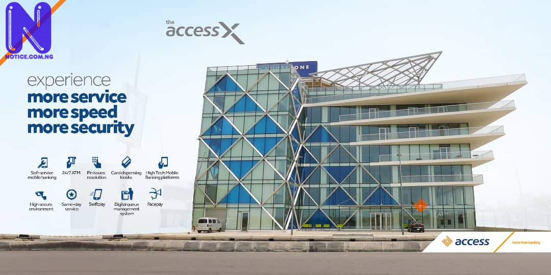 Access Bank launches AccessX to enhance self-service banking ACCESSX-BANNER