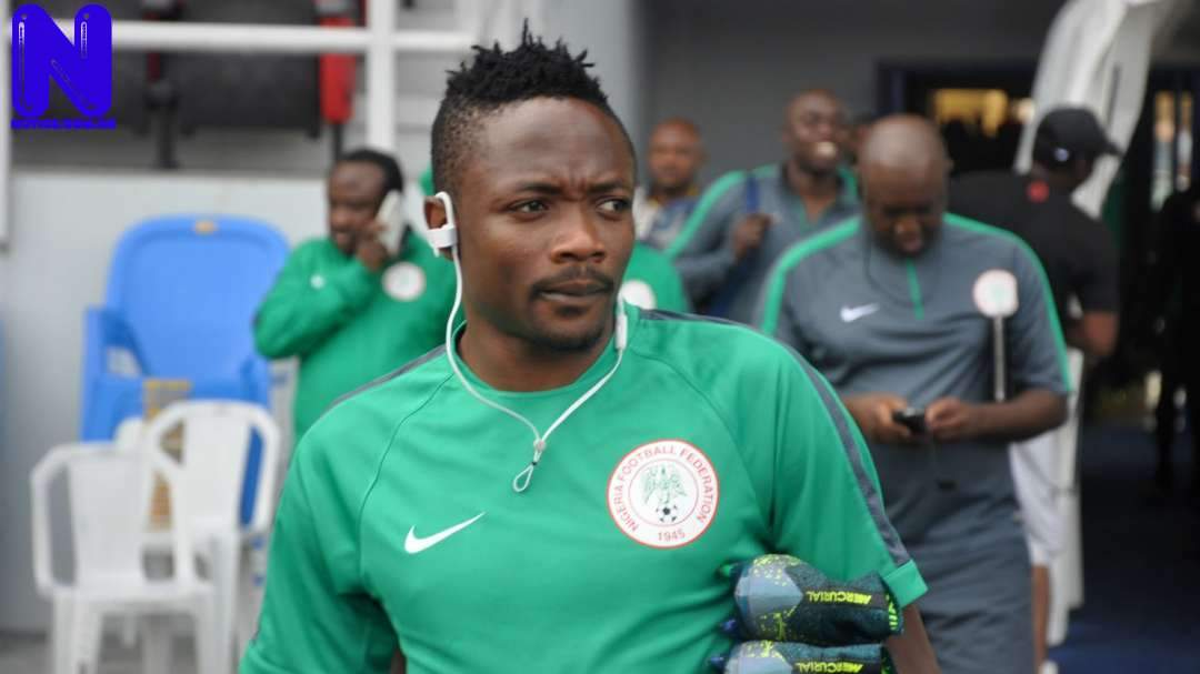 Ahmed Musa throws captain's armband on pitch as Nigeria fail to defeat Cameroon AHMED-MUSA