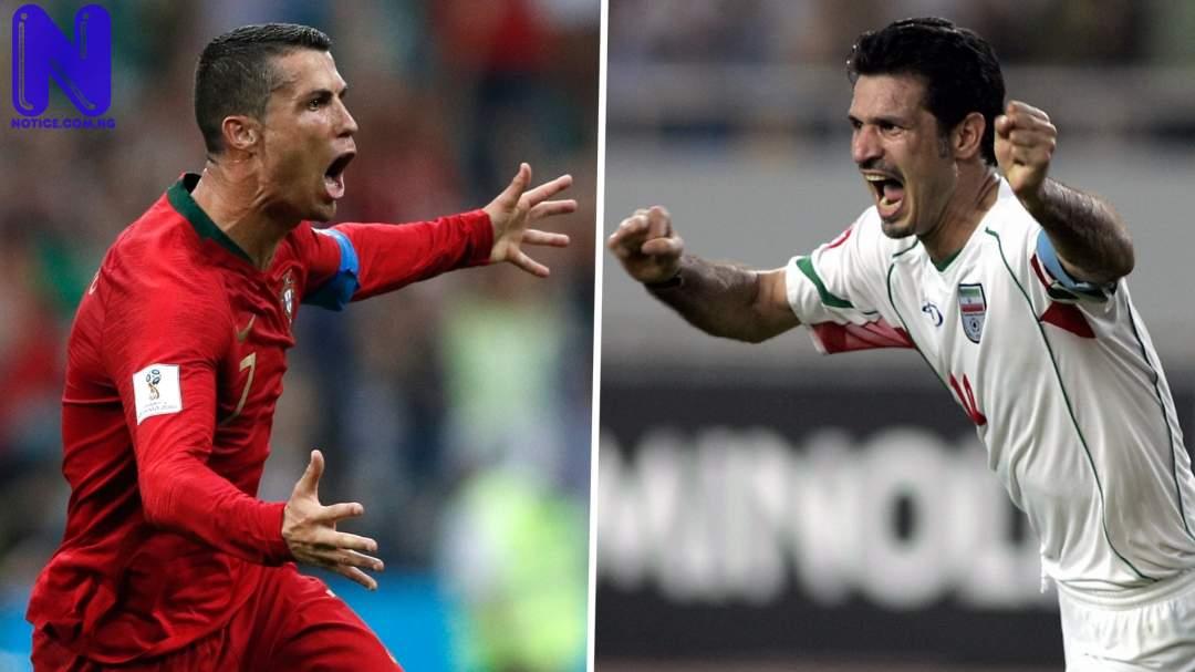 Pele reacts as Ronaldo equals Ali Dael's goal record - Euro 2020 ALI-DAEI
