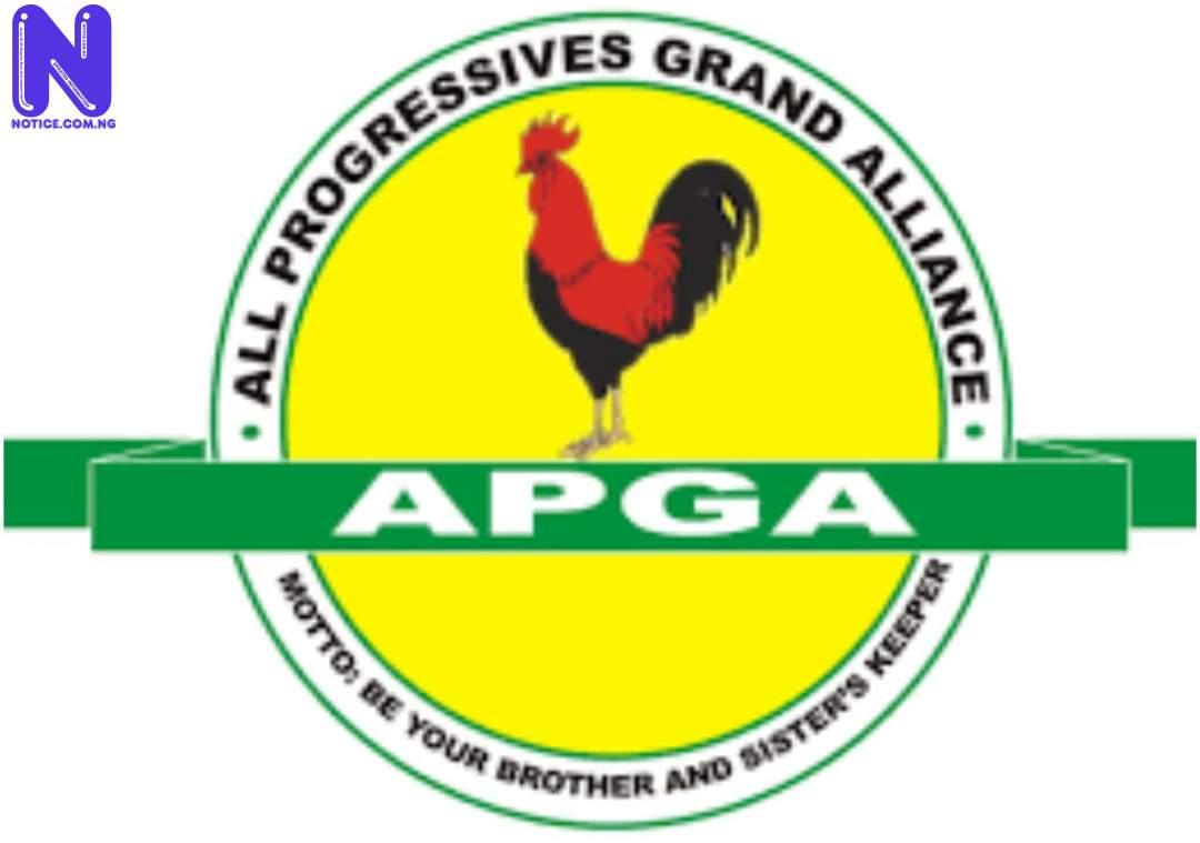 Anambra APGA members react to Okeke's defection, demand immediate resignation APGA76453