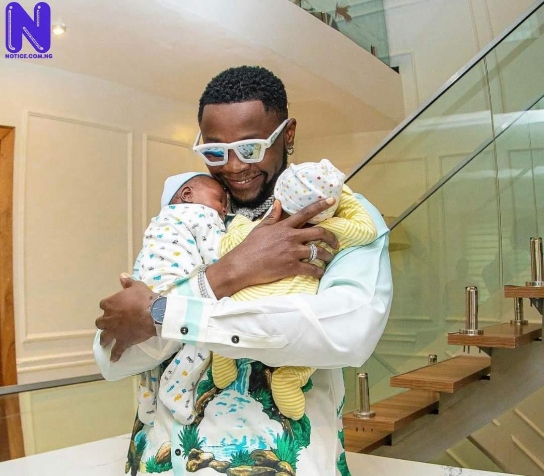 I lost my third child four days after his birth – Kizz Daniel reveals AUI6QOKX