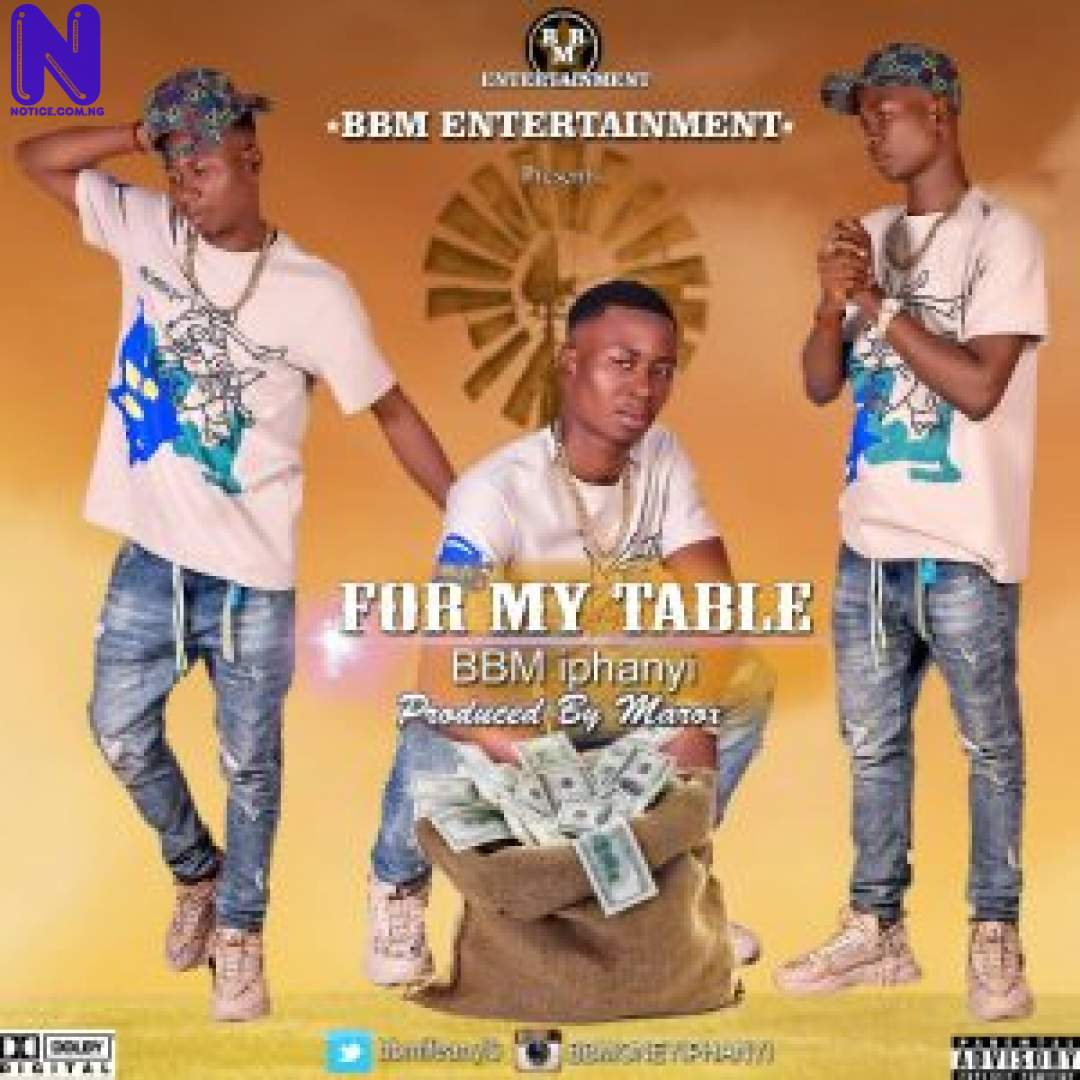 Download Music Mp3: BBM iphanyi – For My Table BBM FOR MY TABLE-300X300