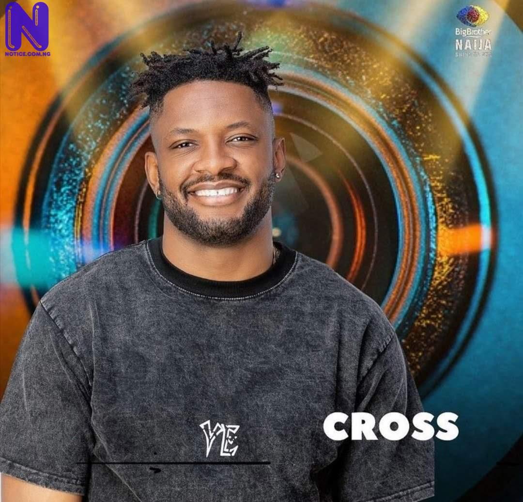 Cross breaks down in tears after fight with Nini - BBNaija BBN-CROSS197270