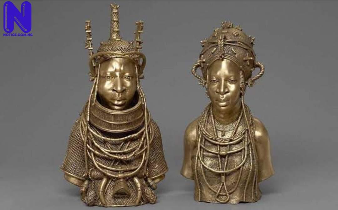 Nigeria, Germany sign agreement on return of 1,130 Benin bronzes BENIN-BROZENS-265848
