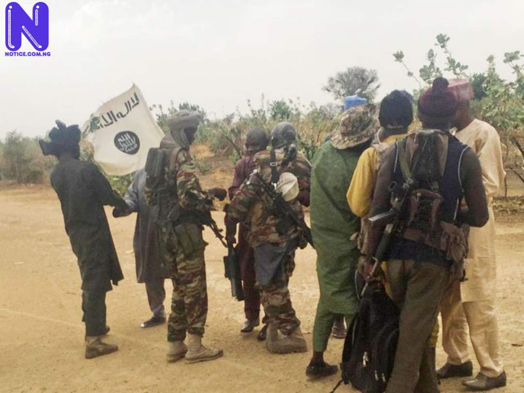 Boko Haram terrorists attack Kanamma in Yobe BF111AF0-BOKO-HARAM