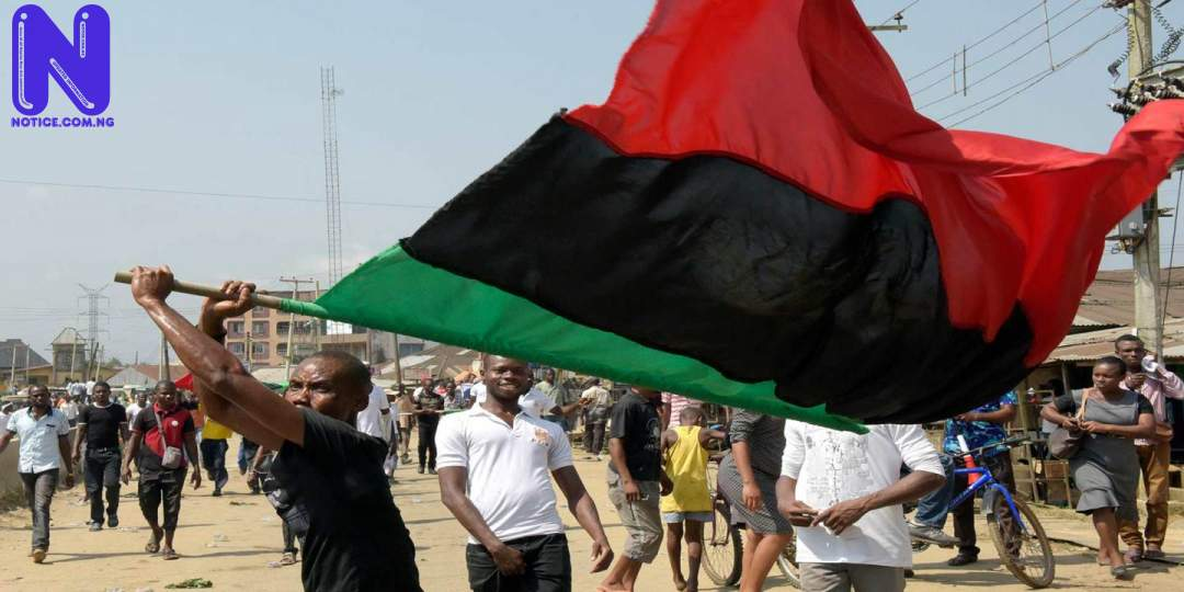 IPOB launches onslaught against miscreants enforcing sit-at-home, to rebuild Imo school BIAFRA IPOB115200