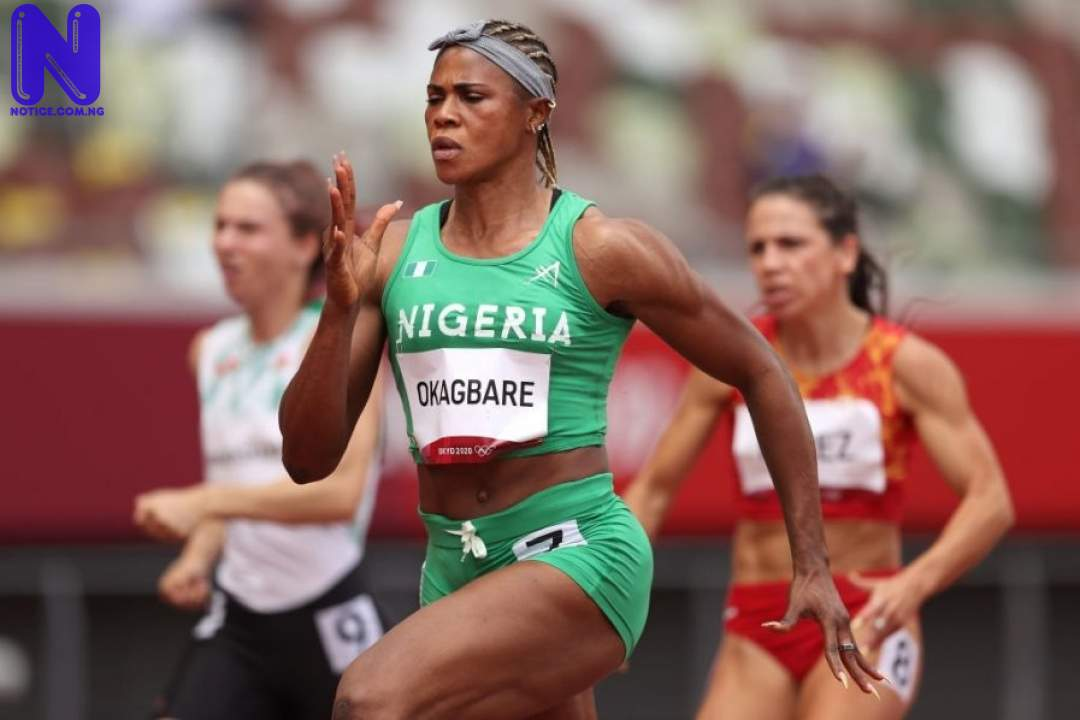 Two Nigerian athletes qualify for 100m semifinals - Tokyo Olympics BLESSING-OKAGBARE-897X598-161817