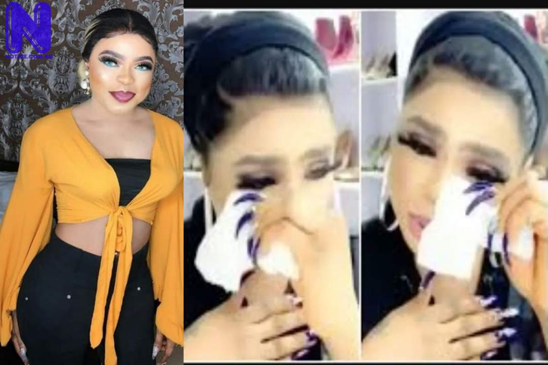 I want my life back – Bobrisky cries out after plastic surgery BOBRISKY-CRIES