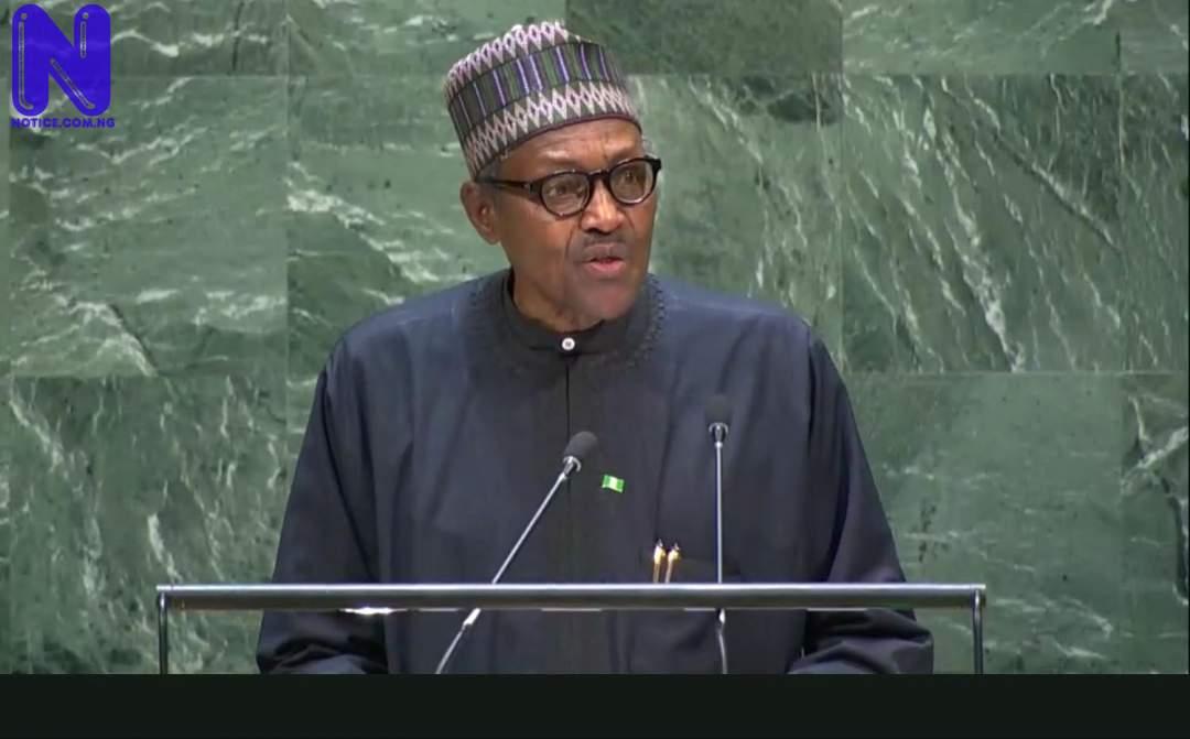 Appraising Buhari's war on terror - Emmanuel Onwubiko BUHARI-UN114467
