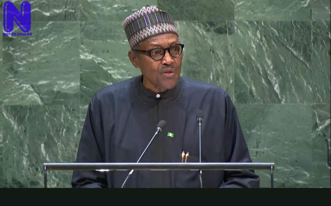 Nigeria is getting somewhere on security – Buhari tells Netherlands Prime Minister BUHARI-UN222855