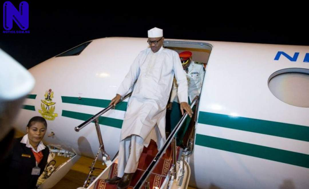 Buhari returns to Abuja, sends gifts to military officers BUHARI177837