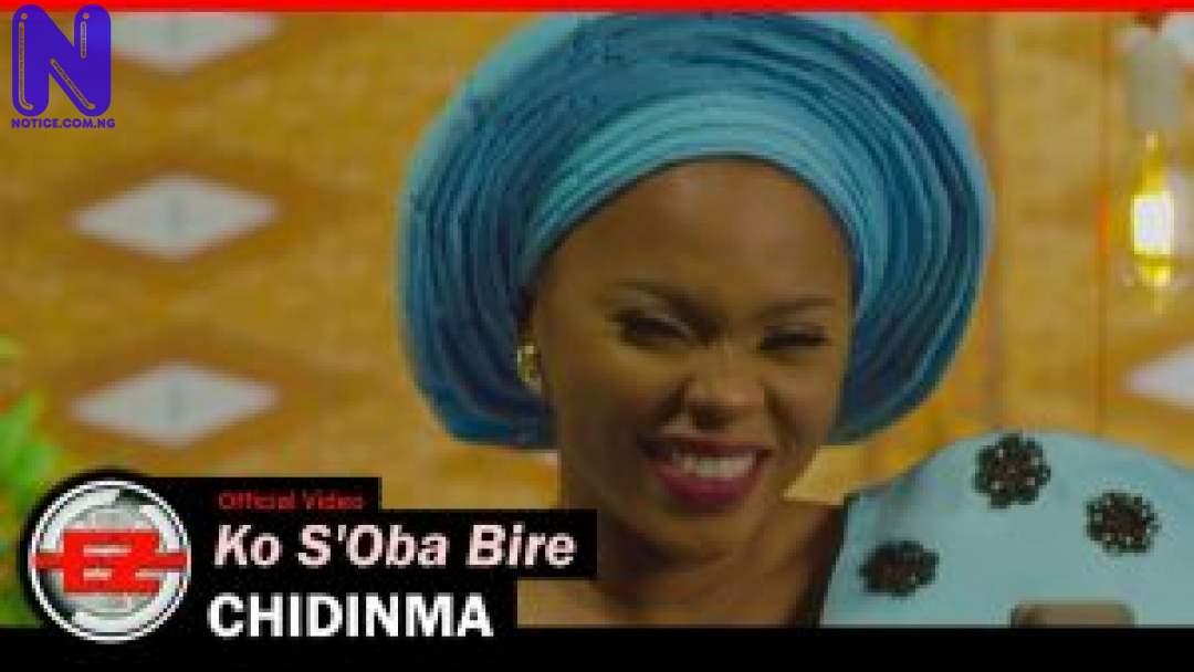 Download Gospel Music: Chidinma - Ko S'Oba Bire CHIDINMA-KO-SOBA-BIRE-OFFICIAL-MUSIC-VIDEO-300X16912024