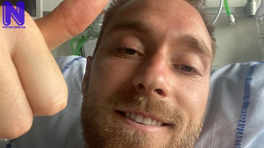 Eriksen discharged from hospital - Euro 2020 CHRISTIAN-ERIKSEN-1