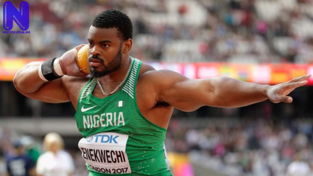 Nigeria's Enekwechi qualifies for men's shot put final - Tokyo Olympics CHUKWUEBUKA-ENEKWECHI927717
