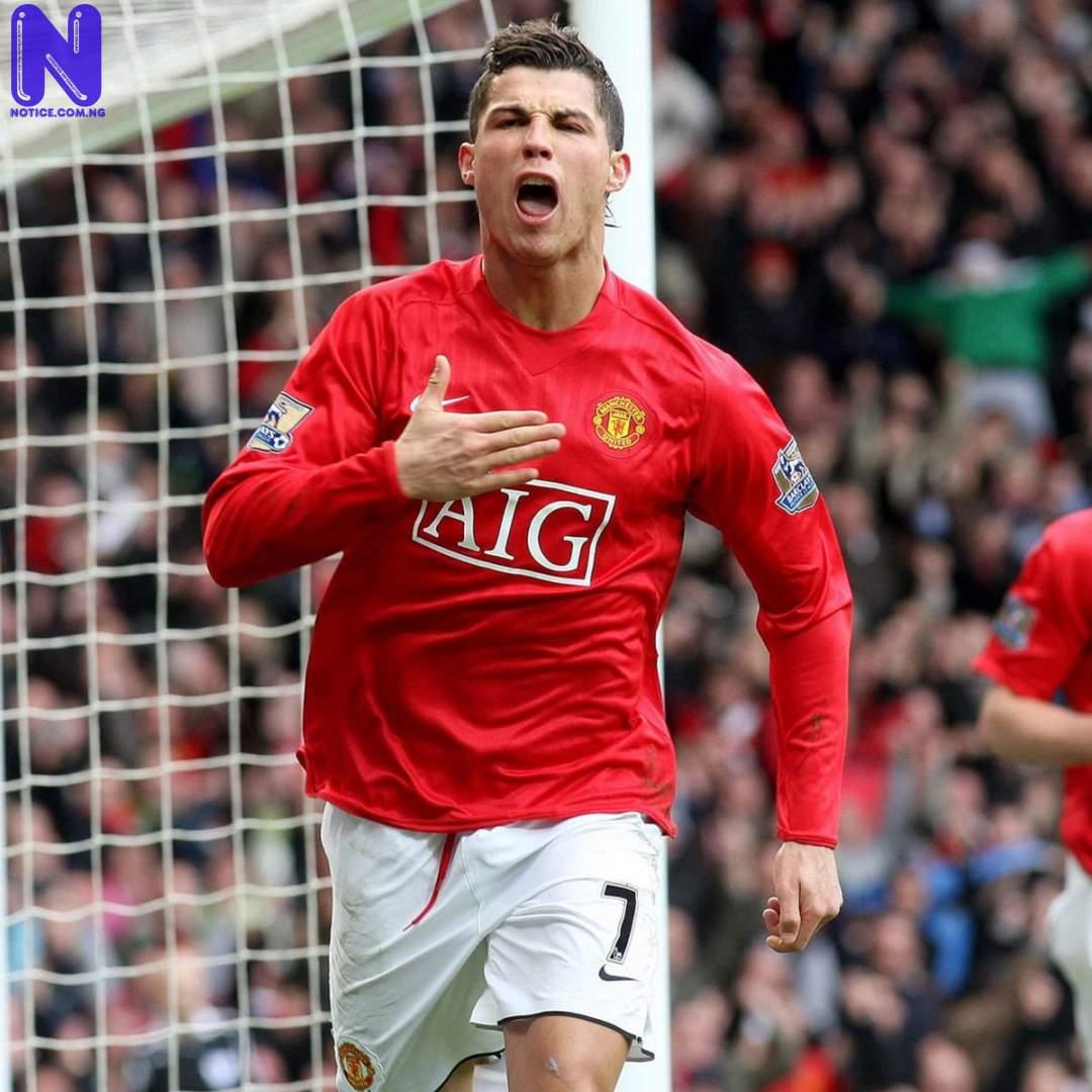 Ronaldo equals Messi's record - Young Boys versus Man Utd CRISTIANO-RONALDO-MAN-UNITED-RETURN179475