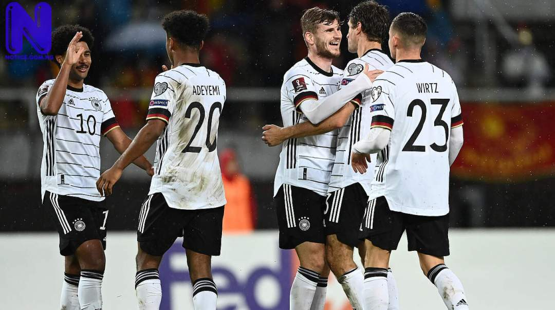 Germany becomes first team to qualify for 2022 World Cup CSM 248853-MAZEDONIEN GES 3 5E77981878150661