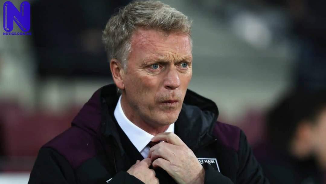 Moyes reacts to Mark Noble's missed penalty against Man Utd - EPL DAVID-MOYES-WEST-HAM-1718 C2O7E9ZYIVA217L07FNS758IF35266