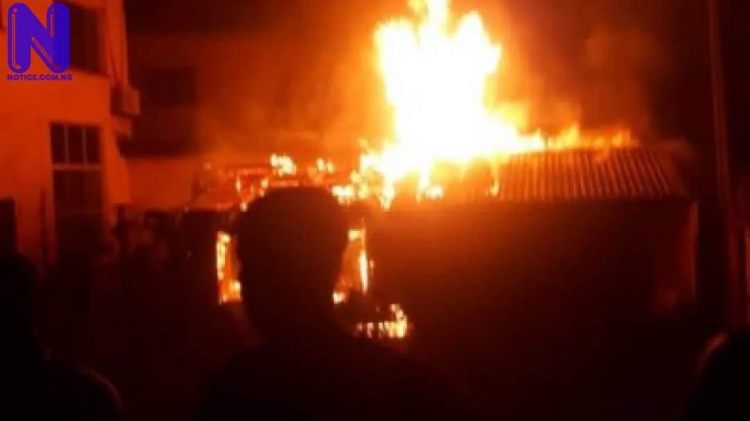 Fire guts another INEC office in Enugu State DE826CBB-EEA4-40AE-8C2C-4D0866041BE0-E1581568790107