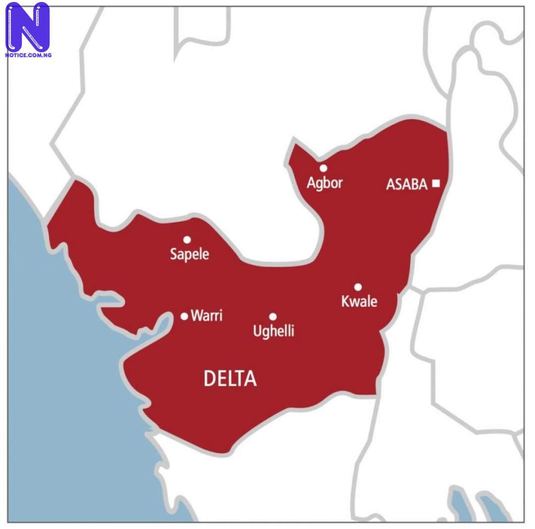 Louis Okandeji, who allegedly defiled minor still in custody –  Delta CP, Ali clarifies DELTA-STATE-NIGERIA-MAP