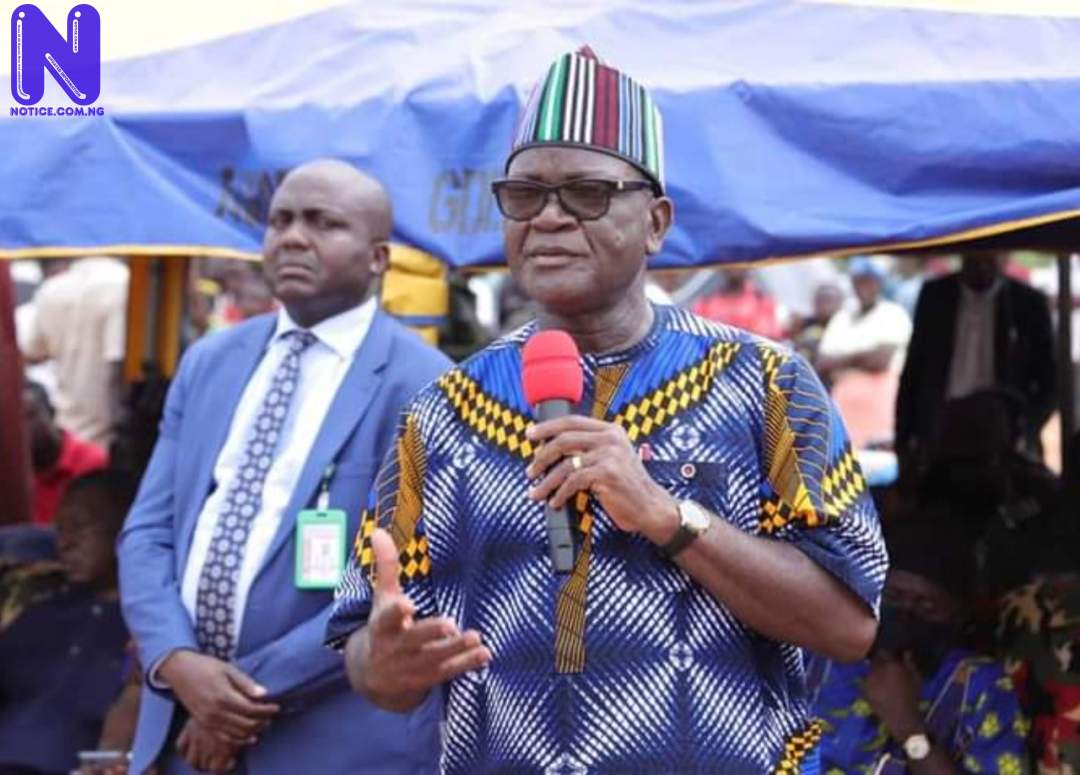 Gov Ortom vows to sustain peace between Benue, neighbouring states DYSUYPUD