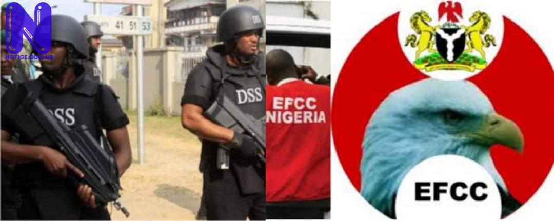 EFCC, DSS, Police strengthen ties against corruption in Nigeria EFCC-VS-DSS