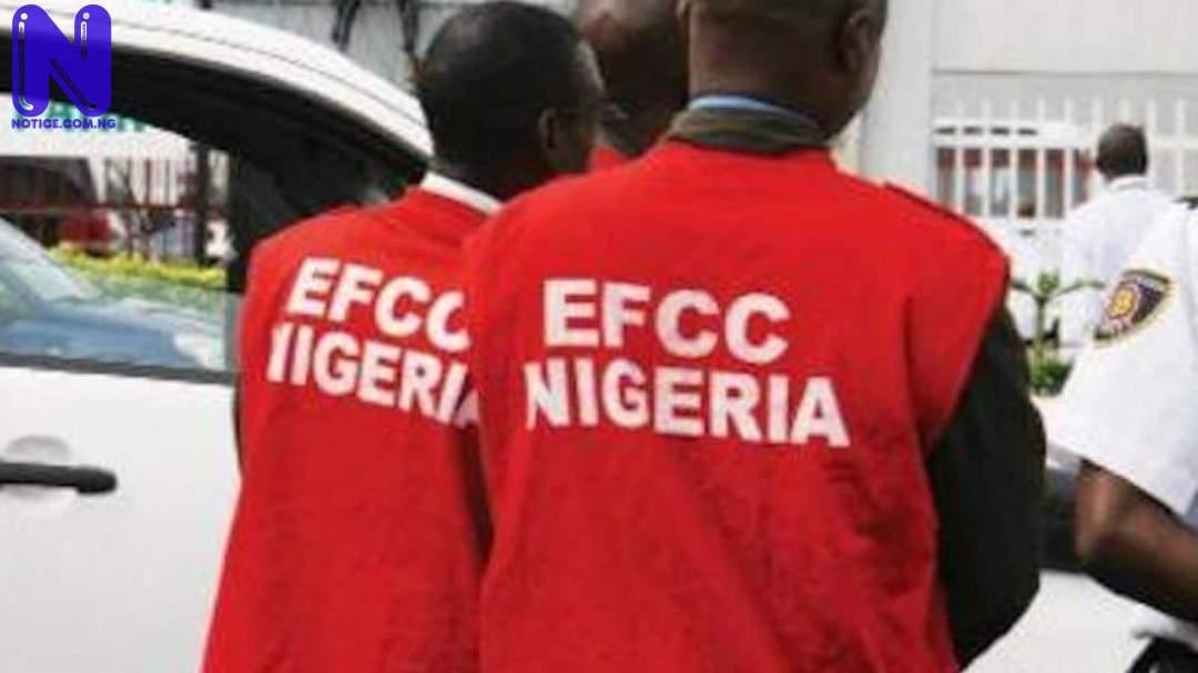 EFCC raids Ogun government hotel, arrests 56 suspected Yahoo boys EFCC48853
