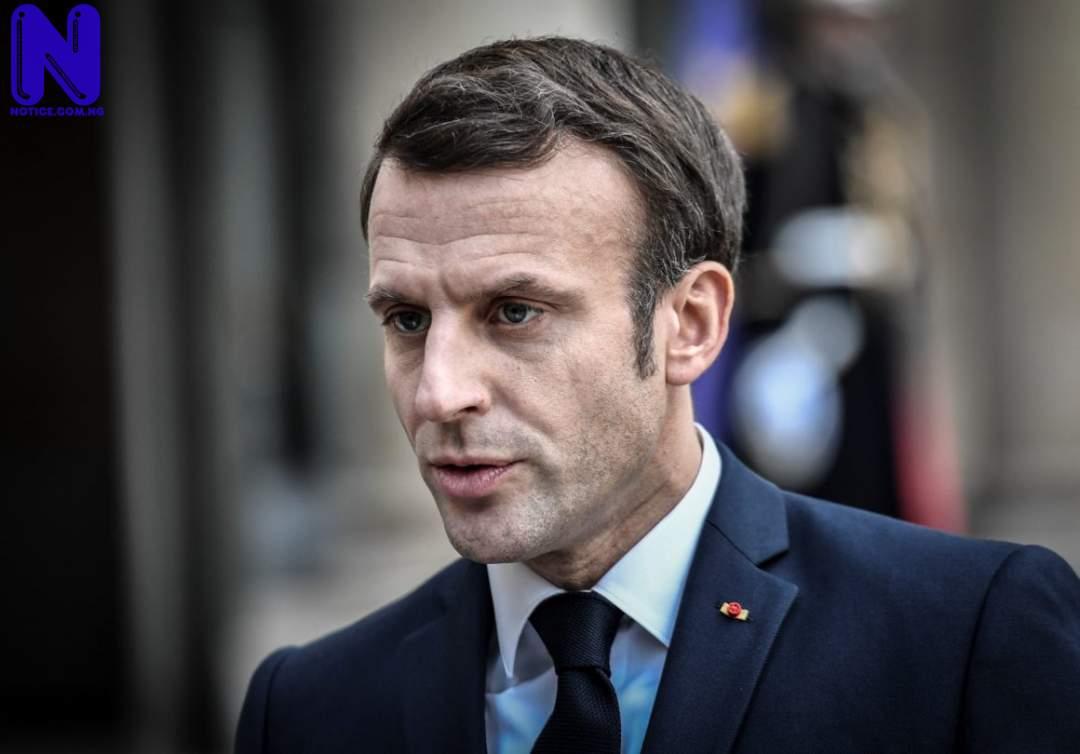 Bystander slaps President of France, Emmanuel Macron at public event EMMANUEL-MACRON