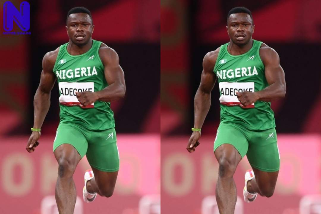 Nigeria suffers major blow as Adegoke fail in men's 100m final - Tokyo Olympics ENOCH-ADEGOKE601651