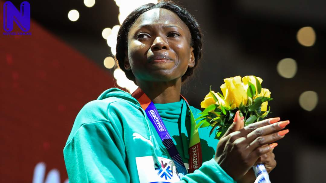 Nigeria's Ese Brume qualifies for final - Tokyo Olympics ESE-BRUME-587226