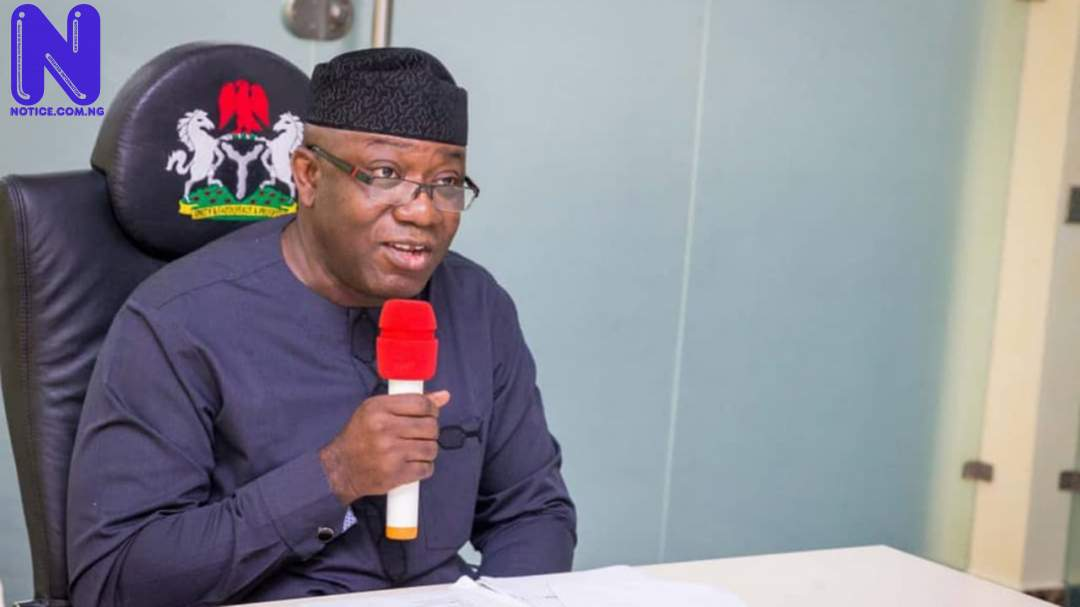 Recruit your kids – Nigerian People slam Fayemi over call for NYSC members to fight B/Haram FAYEMI71273