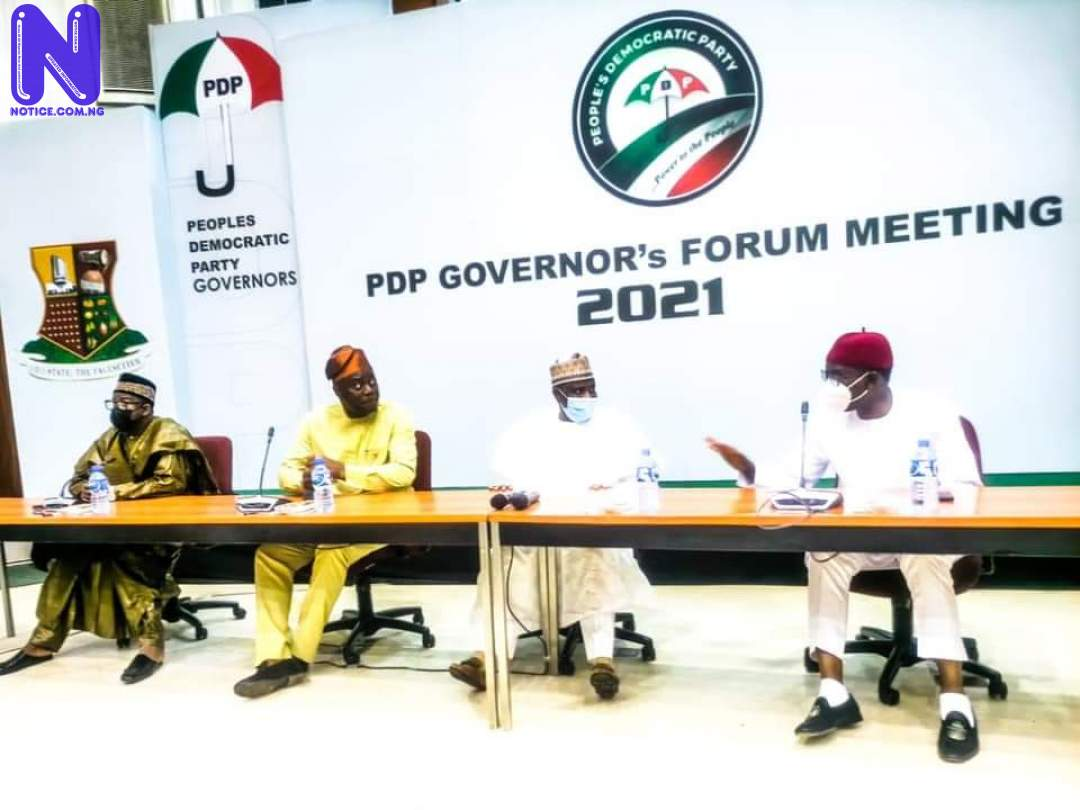 Restructure Nigeria, summon emergency meeting on insecurity – PDP Govs to Buhari FB IMG 1621277113332