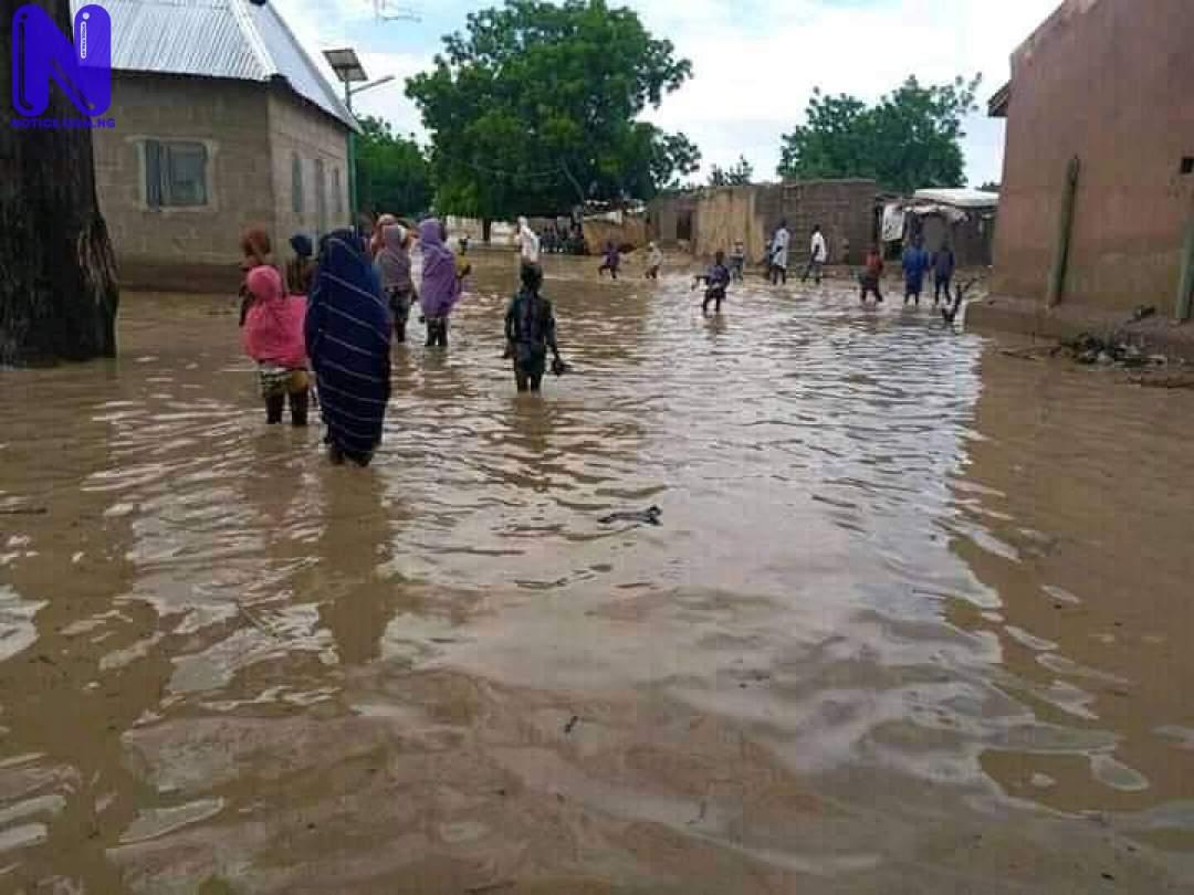 Double tragedy as flood, fire destroy homes in Jakusko, Yobe FB IMG 162694958743342306