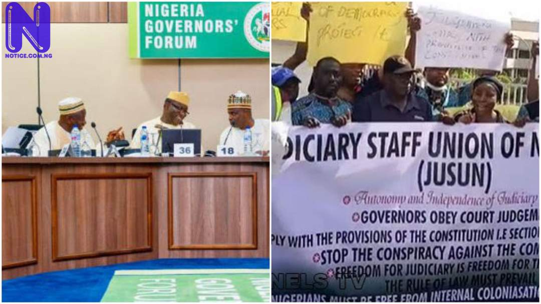 Between governors, JUSUN and trampling of Nigeria's Constitution GOVERNORS-N-LAW