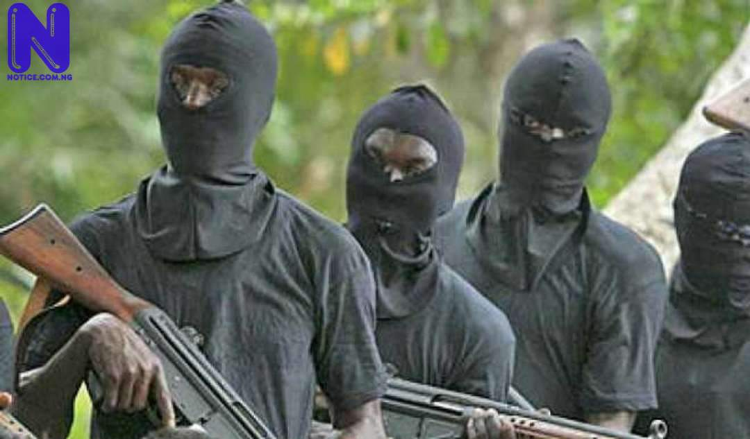 Abductors threaten to kill remaining students in next 24 hours - Greenfield students GUNMEN1-1