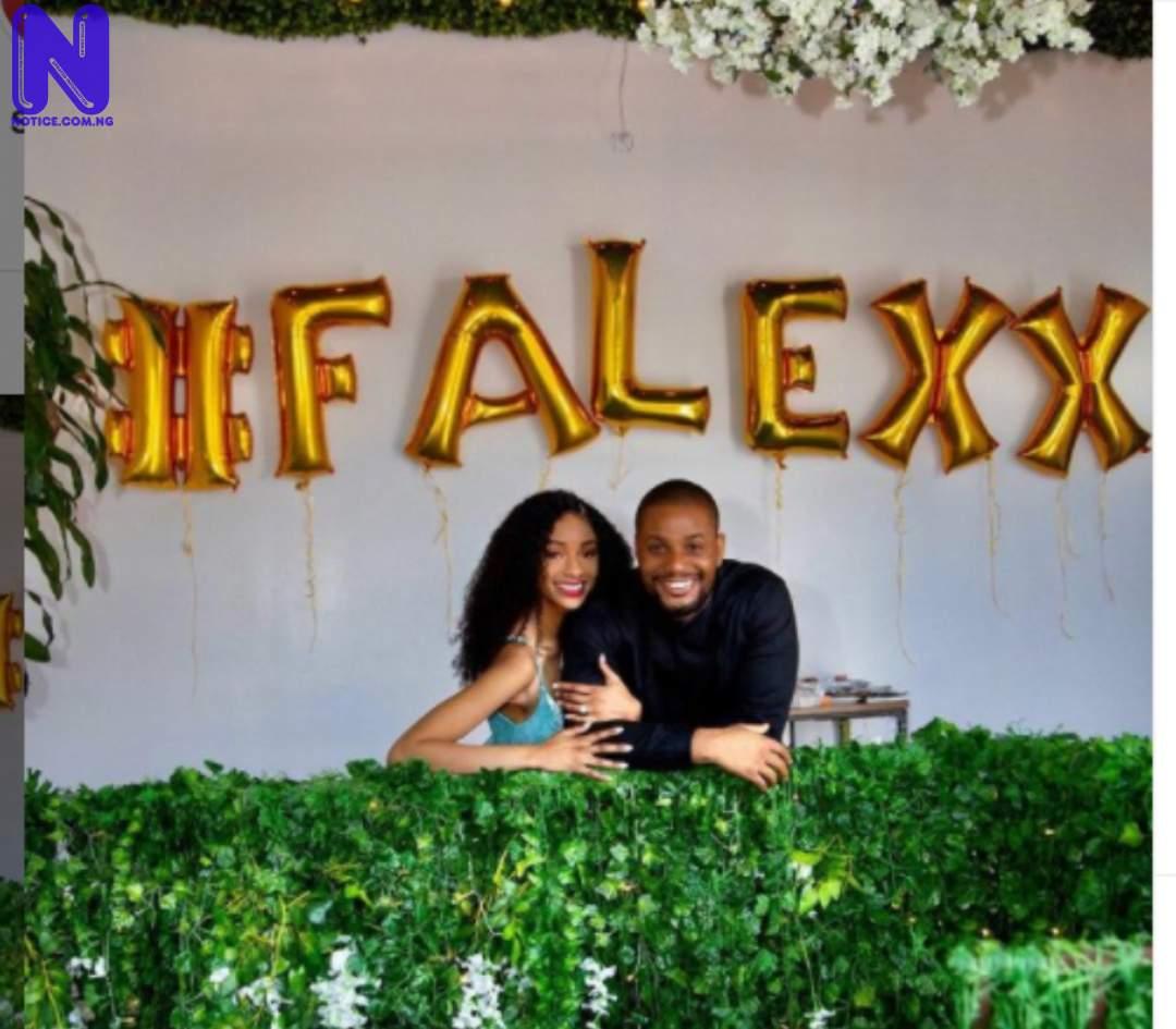 Actor, Alex Ekubo set to marry longtime girlfriend, Fancy Acholonu H2VQXIZG