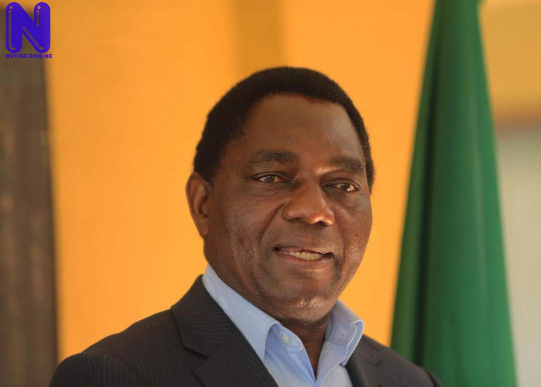 Zambia's President-elect lauds Commonwealth's role in peaceful election HAKAINDE-HICHILEMA50101
