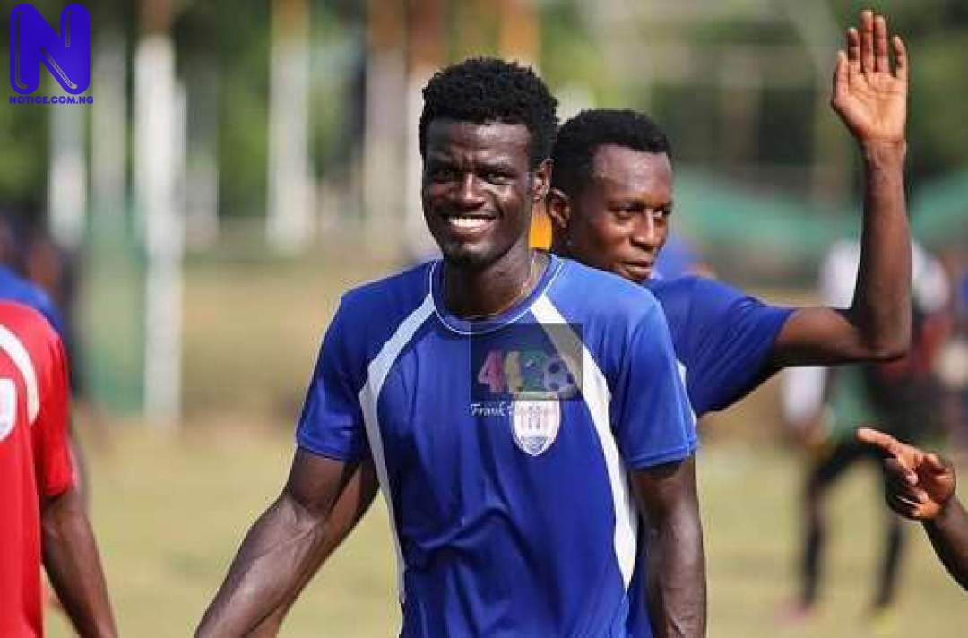 Ghana defender scores two deliberate own goals to stop 'match-fixing plot' HASHMIN-MUSAH19577