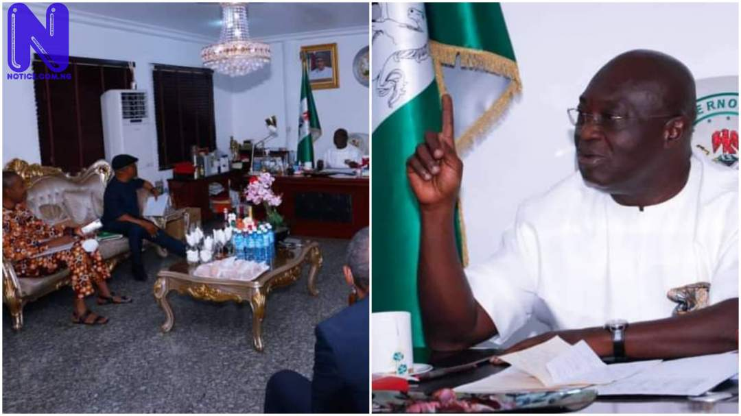 Abia's Ikpeazu meets with cabinet, plans security roundtable HX6M7FK8