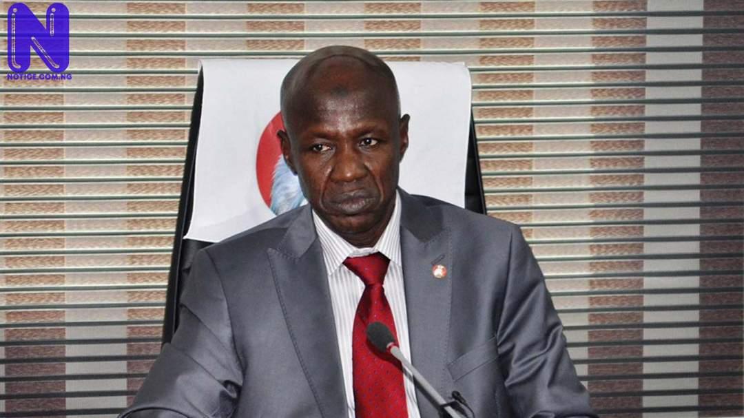 Ex-EFCC boss, Ibrahim Magu still on FG's payroll despite suspension - Minister IBRAHIM-MAGU111663