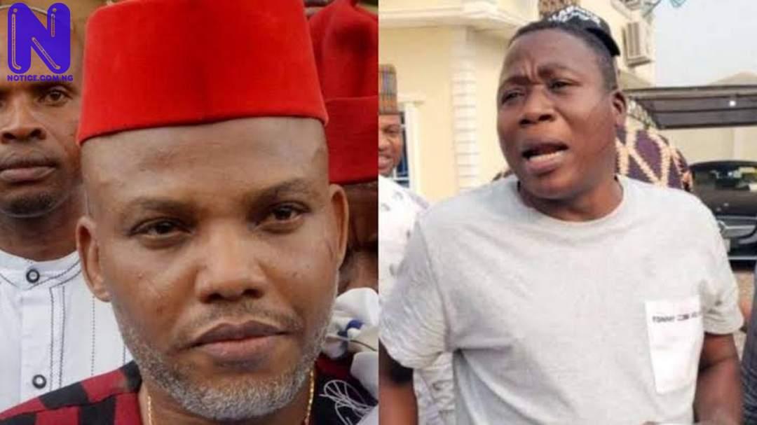 Like Nnamdi Kanu, DSS collates audio, video evidence to nail Sunday Igboho IGBOHO-KANU79914