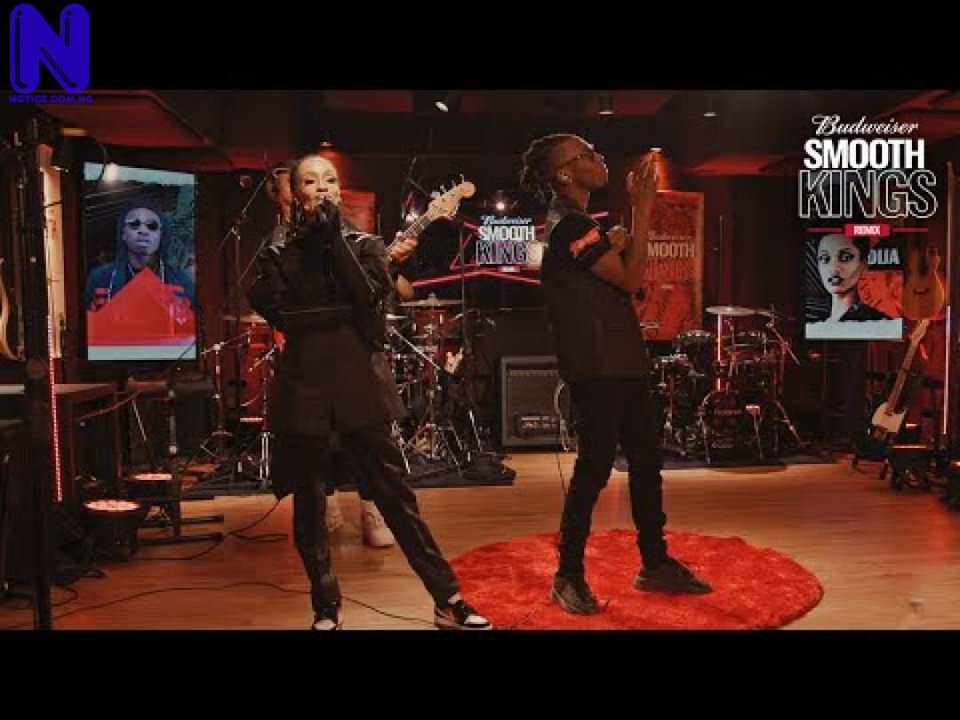 Download Music Mp3: Ijo Ya Remix (Mayorkun ft Di'Ja) - Season 1 - Episode 6 - Budweiser Smooth Kings Remix mp3 Download IJO-YA-REMIX-FEAT-MAYORKUN-AND-DI-JA-SEASON-1-EPISODE-6-BUDWEISER-SMOOTH-KINGS-REMIX