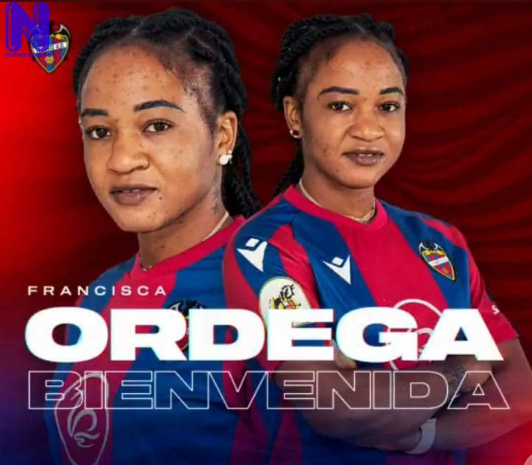 Levante sign Falcons star, Francisca Ordega IL5DYI4L