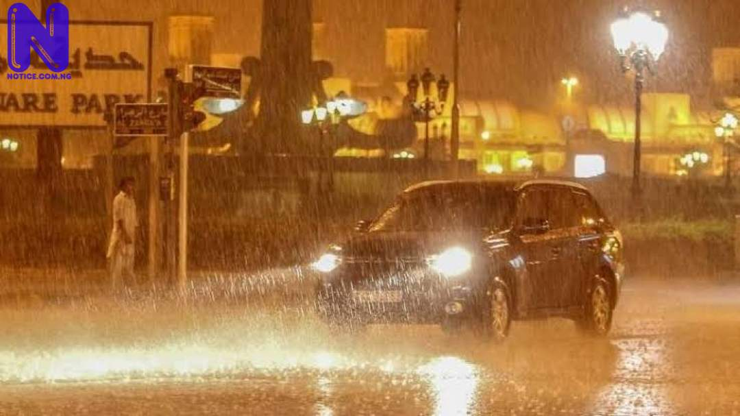 Dubai creates artificial rain to combat heatwave IMAGES-5532891