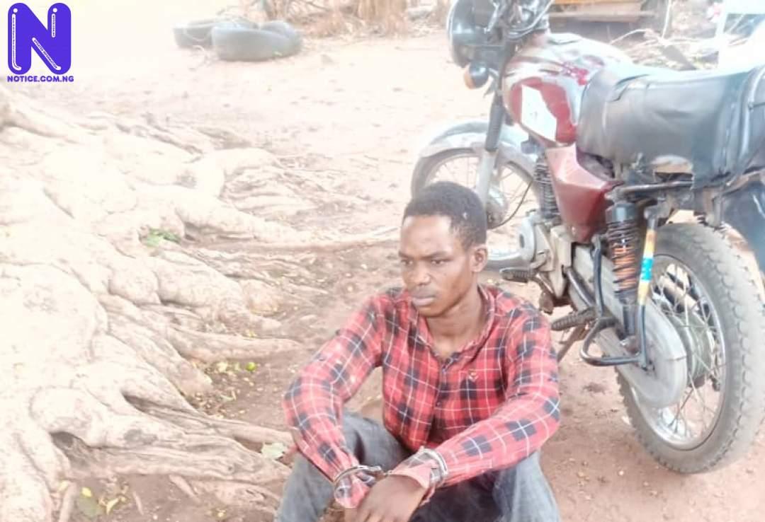 Man arrested with fresh human head, hands in Kwara IMG-20210503-WA0042