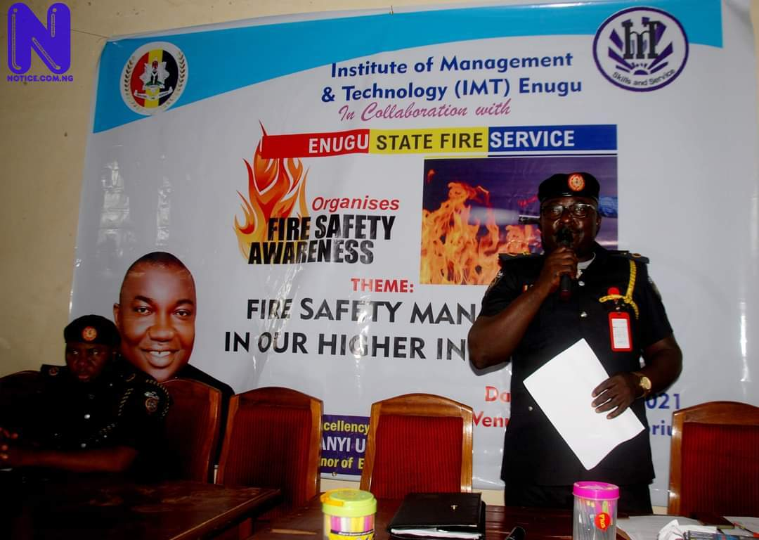 Enugu Government lectures students, others on fire prevention measures - Safety IMG-20210610-WA0066