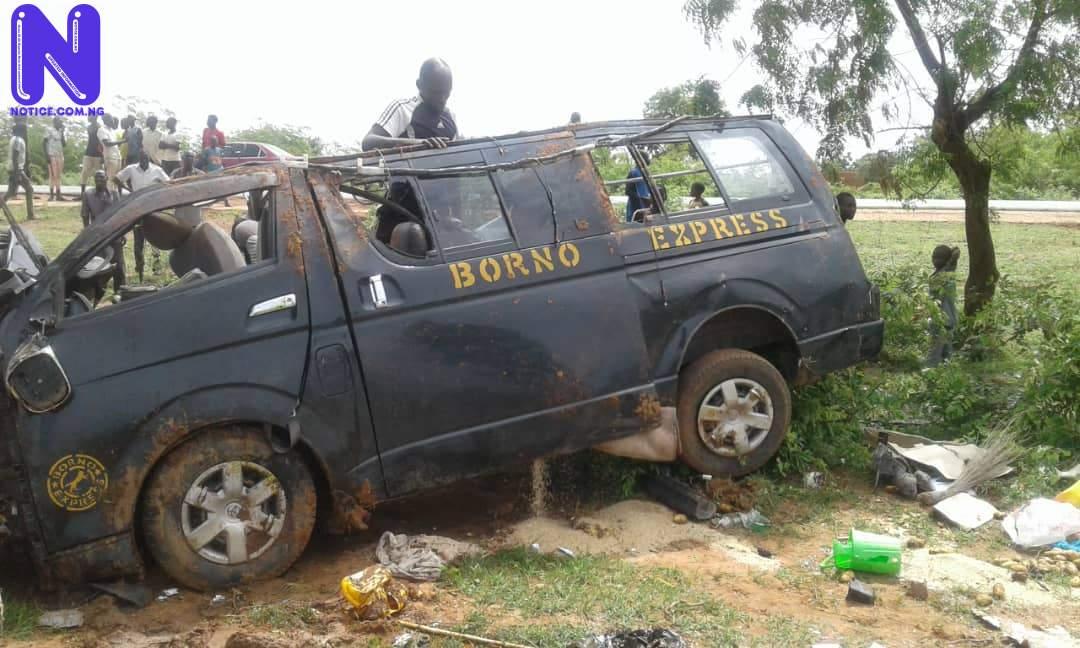 9 killed, 16 others injured in fatal road crashes (PHOTOS) - Yobe IMG-20210715-WA0002
